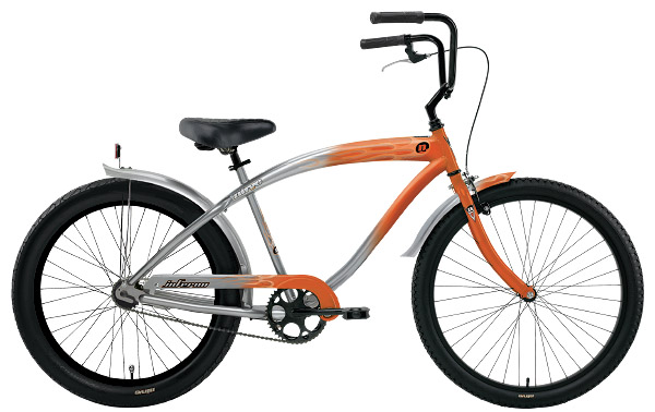 Nirve Mens Cruiser Inferno Orange/Pewter